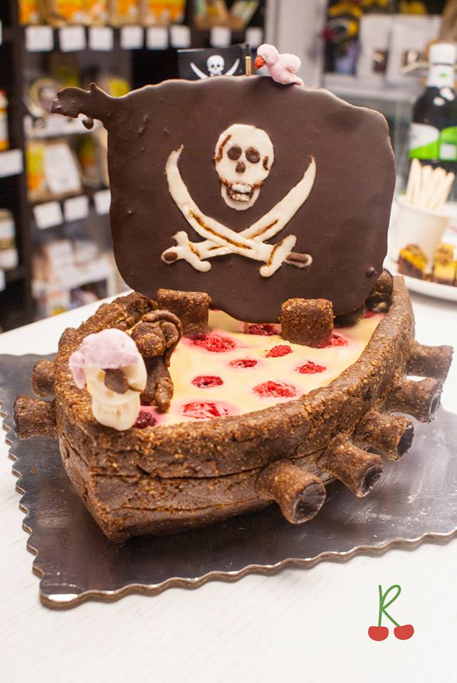 детска сурова торта Rawlly