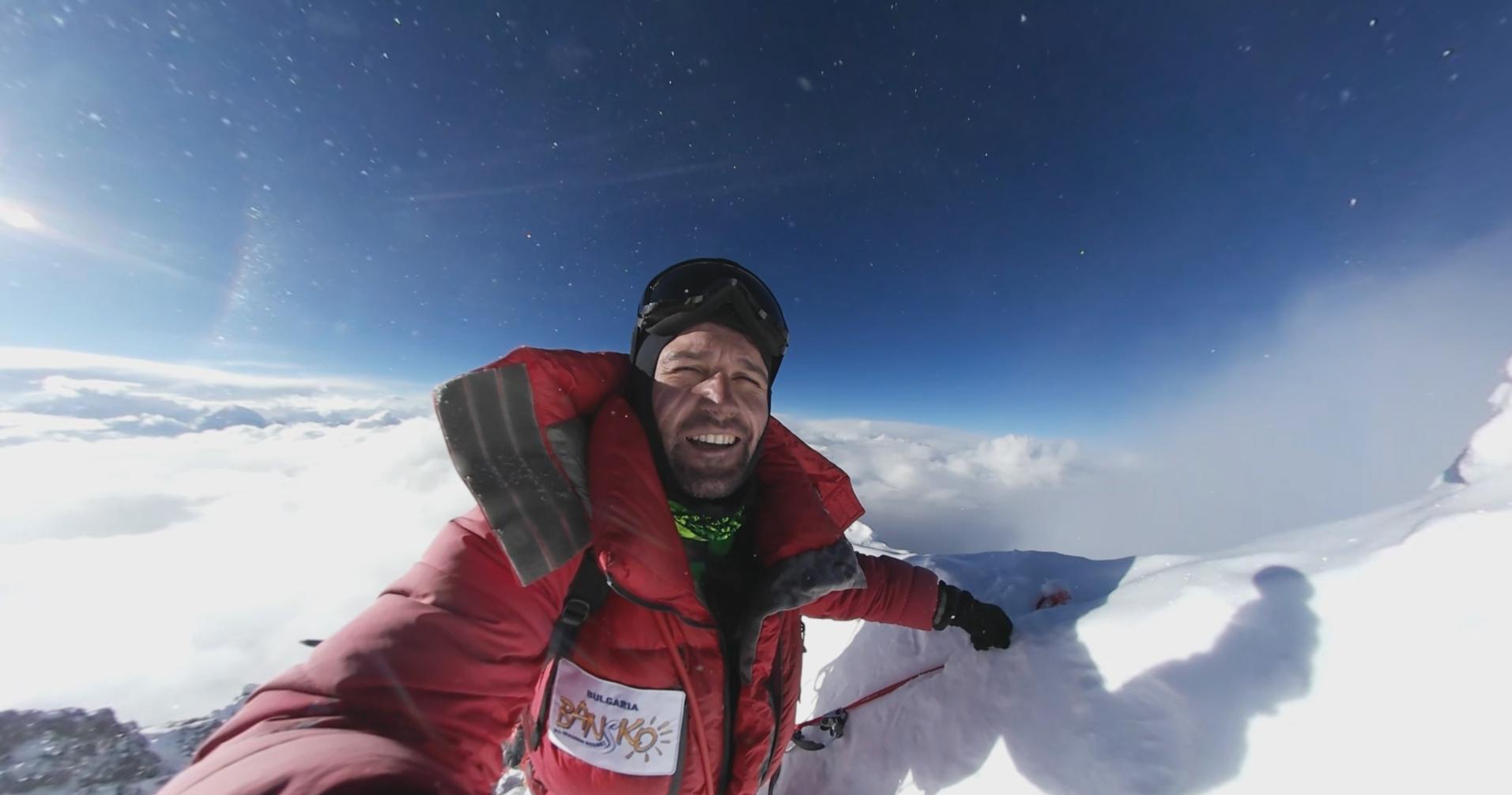 Атанас Скаотов, веган алпинист